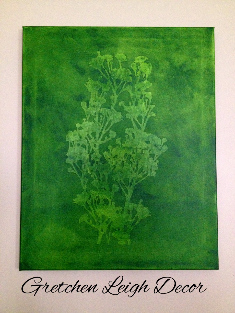 Green Painting Wall Art